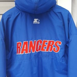 STARTER Jackets   Coats - Vintage 90s NY Rangers Starter Jacket 65fc097ed7